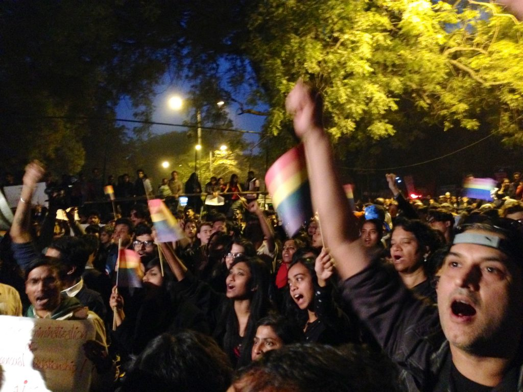LGBT Protest India 1