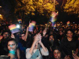 LGBTI Protest, Delhi, India