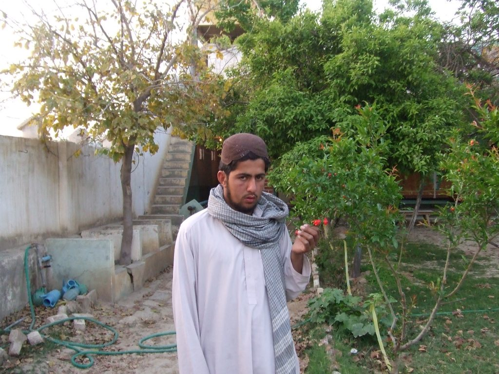 Tariq Aziz at his house in Pakistan