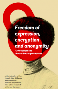 Cover of civil society report submitted to the UN Special Rapporteur