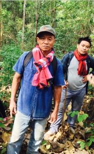 Paw Saeng Kwanyeun and Prajak Srikhampa (Credit: Thanakrit Thongfa)