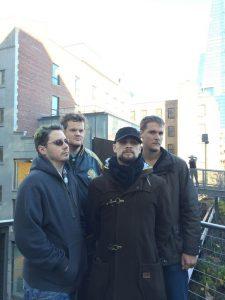 Stephen, Michael, Brandon and Cian