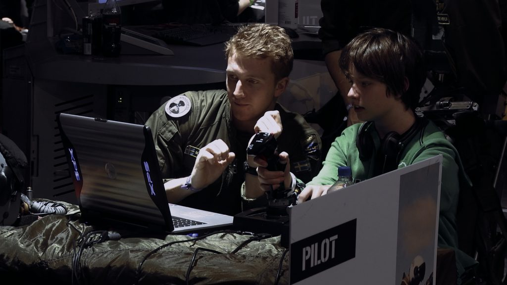 The recruitment of young pilots at gaming conventions