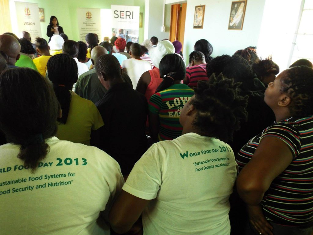 Workshop SERI conducted in Rooigrond, North West with the office of the Public Protector, Thuli Madonsela