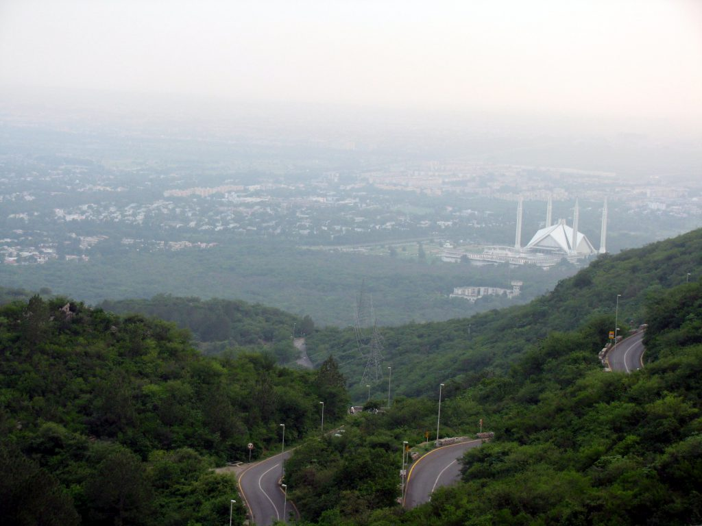 A view of Islamabad (Photo: Hasan Basri)
