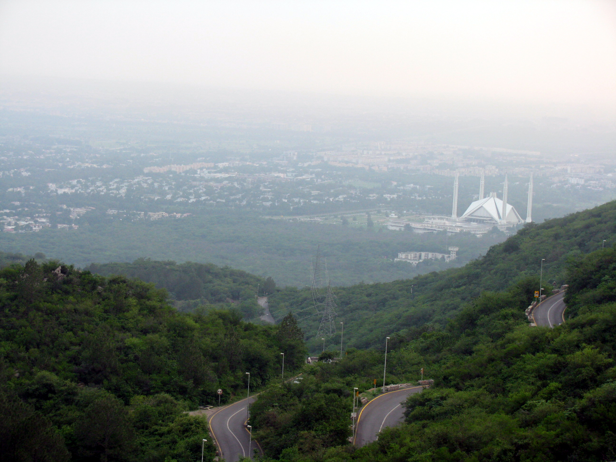 A view of Islamabad (Photo: Hasan Basri)