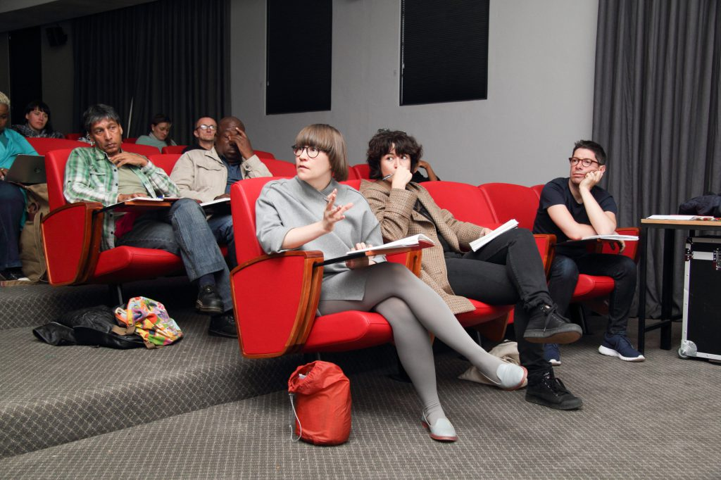 Interaction in the Retreat Media Centre