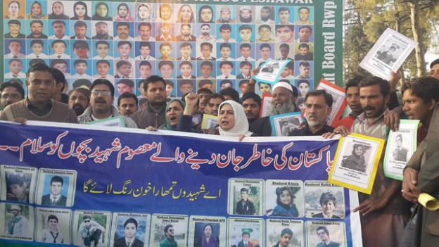 Missing persons protest, Islamabad (courtesy Amina Masood Janjua)
